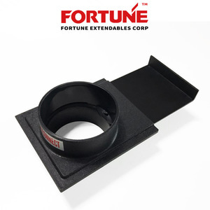 "[FORTUNE] 포춘 100mm 퀵 개페기 (W1057)  QUICK COUPLING 4"" BLAST GATES"